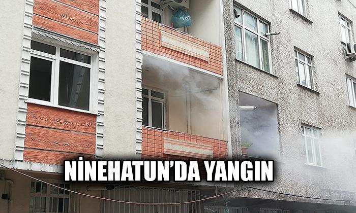 Ninehatun'da yangın