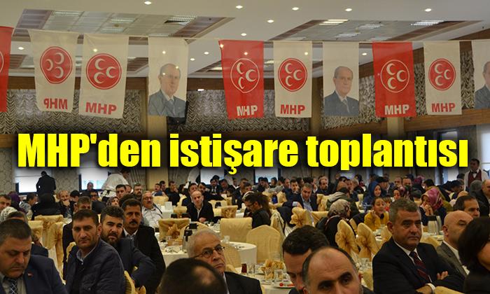 MHP'den istişare toplantısı