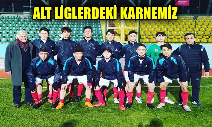 ALT LİGLERDEKİ KARNEMİZ