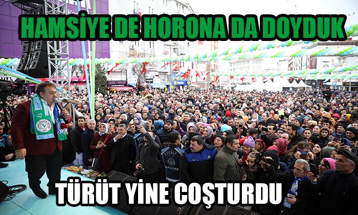 HAMSİYE DE HORONA DA DOYDUK