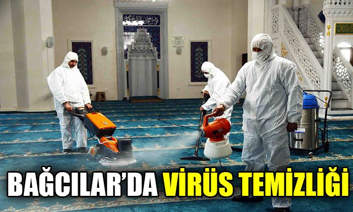Bağcılar'da virüs temizliği