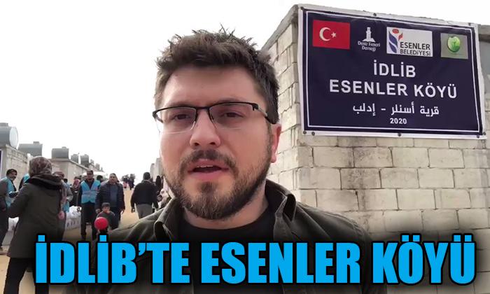 İDLİP'TE ESENLER KÖYÜ