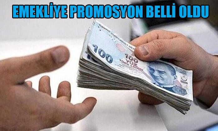 EMEKLİYE PROMOSYON BELLİ OLDU