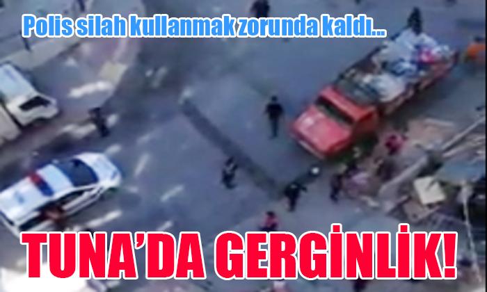 TUNA'DA GERGİN ANLAR!