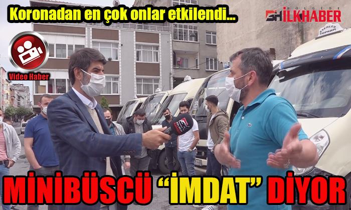 """MİNİBÜSCÜ """"İMDAT"""" DİYOR"""