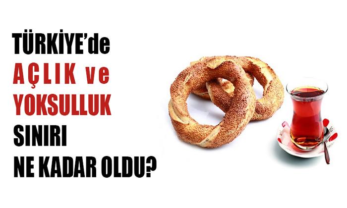 Türk-İş'e göre AÇLIK SINIRIMIZ NE OLDU?