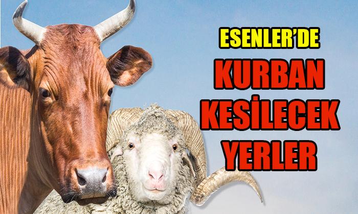 ESENLER KURBANA HAZIR