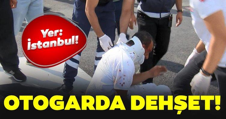 ESENLER OTOGARI'NDA HERKESİN GÖZÜ ÖNÜNDE DEHŞET